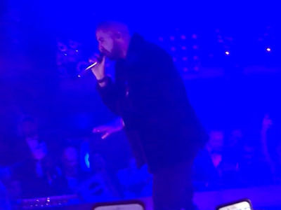 Drake Toasted to James Harden on NYE ... 53 Point Game was Insane! (Video)
