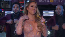 Mariah Carey Stops Singing During Time Square NYE Performance (VIDEO)