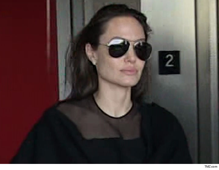 Angelina Jolie Will Seal Custody Case But Claims Brad's the Bad Guy
