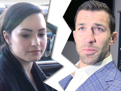 Demi Lovato & Luke Rockhold Break Up ... Singer Out with New Fighter