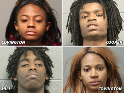 4 Charged in Kidnap, Torture Facebook Live Video (MUG SHOTS)