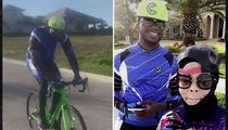Gucci Mane -- Ambitions As a Rider ... I'M A CYCLIST NOW! (VIDEO)