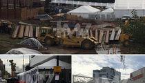 Golden Globes Prepares for Waterworld (PHOTOS)