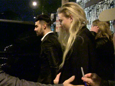 Joe Jonas & Sophie Turner Hit Up Hollywood (VIDEO)