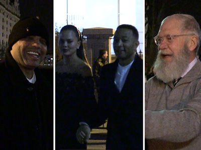 Celebs Bid Farewell to Obama at White House Party