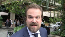 'Stranger Things' Star David Harbour Says Stephen King Will NOT Write Season 2 (VIDEO)