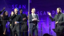 Sean Penn Draws Big Stars at Haiti Fundraiser On Golden Globe Weekend (VIDEO)