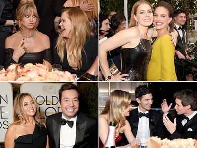 2017 Golden Globes -- Behind the Scenes (PHOTO GALLERY)