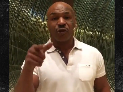 Mike Tyson Is Team Chris Brown ... Training Him For Soulja Boy Fight (VIDEO)