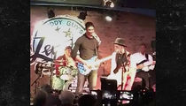 Chris Bosh Jams On Guitar with Blues Legend Buddy Guy (VIDEO)