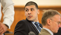 Aaron Hernandez's Gun Tats Can Be Used Against Him ... Judge Rules
