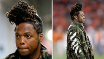 Derrick Henry Pulls An Alicia Keys ... That Hair Is On Fiiiya!! (PHOTOS)