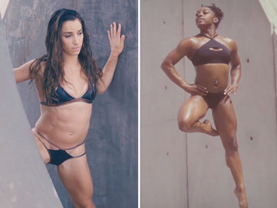 Simone Biles and Aly Raisman Pose For S.I. Swimsuit 2017 (Super Hot Video)