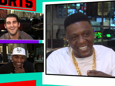 Boosie Badazz Meets Metta World Peace ... 'I Was In Lockdown When You Hit That 3!' (TMZ SPORTS)