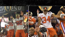 Clemson Football Players Throw Victory Dance Party!! (VIDEO)