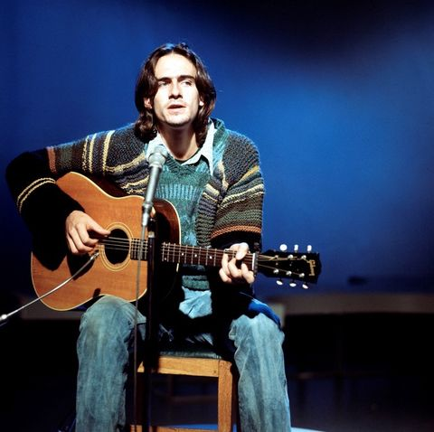 "James Taylor had the hit song ""You've got a Friend"" in 1971, among other great hits."