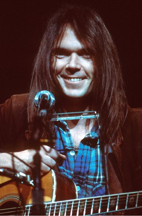 "Neil Young had the hit song, ""Old Man"" in 1972, among other great hits."