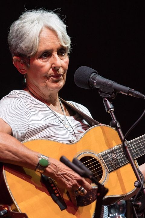 Joan Baez is now 76 years old.