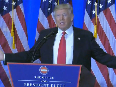 Donald Trump Suspects U.S. Intelligence Agencies for Russian Hack 'Report' (VIDEO)