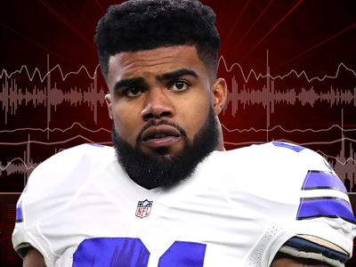 Ezekiel Elliott Car Crash 911 ... Witness Claims RB Blew Through Red Light (AUDIO + PHOTOS)