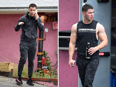 Nick Jonas As The Hulk, Not in a Movie (PHOTOS)