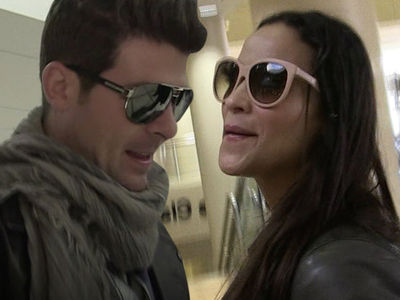 Robin Thicke, Paula Patton ... Loaning Stuff to Your Ex is Risky Business