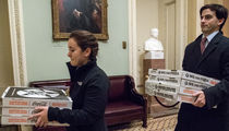 Senators Crushed More Than 100 Pizzas During Obamacare Vote (PHOTO)