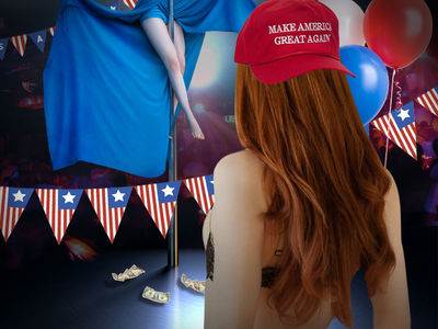 D.C. Strip Clubs Get in Inauguration Spirit!!!