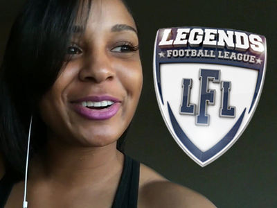 Jerry Rice's Daughter Gets Mini-Camp Invite ... After Women's Football Tryout (VIDEO)