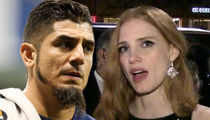 MLB's Matt Garza Blasts Jessica Chastain Over Birth Control -- 'It's Called Abstinence'