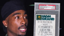 Tupac's Tyson Fight Ticket from Night of Shooting Up for Auction (PHOTO)