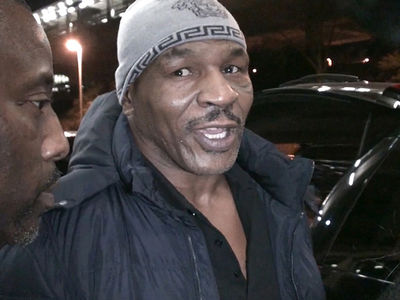 Mike Tyson Says Chris Brown Ain't Like Me ... No 1st Round K.O. (VIDEO)