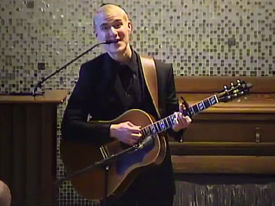Mike Posner Performs At Father's Funeral After 'Conan' Cancer Reveal (VIDEO)