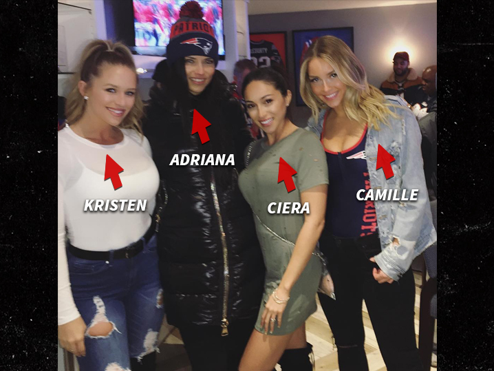 Adriana Lima Hits Patriots Game Joins Insanely Hot Group Of Wives GFs PHOTOS