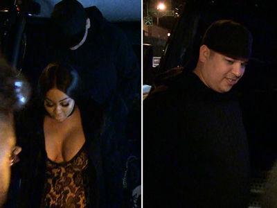 Blac Chyna, Rob Kardashian Mix Chicken Wings and Massages At Strip Club (VIDEOS)