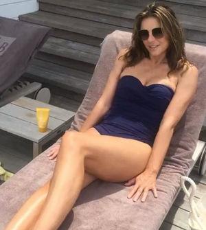 Elizabeth Hurley's Swimsuit Shots