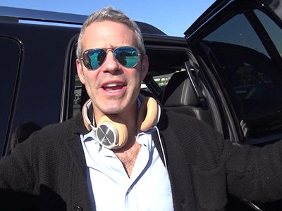 Andy Cohen Advises Trump Inauguration Protesters to Take a DEEP Breath (VIDEO)