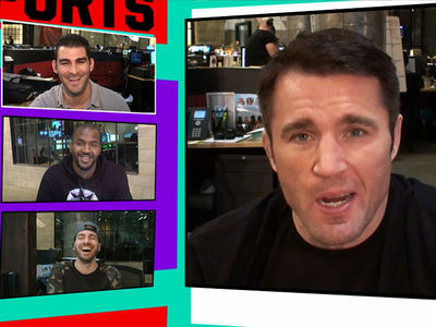 Chael Sonnen to Ronda Rousey ... Let Mayweather Train You! (VIDEO)