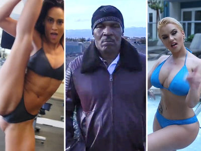 Mike Tyson's Diss Track Music Video ... with Hot Chicks In Bikinis (VIDEO)
