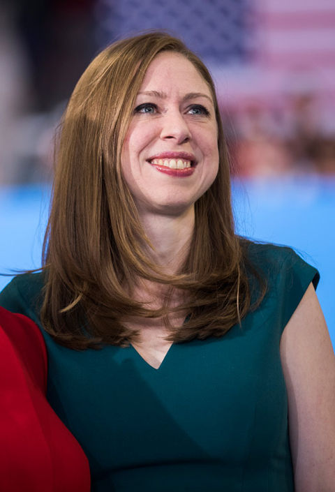 Chelsea Clinton is now 36 years old.