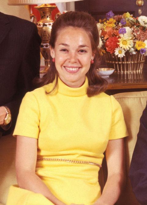 Julie Nixon, daughter of 37th President Richard Nixon.