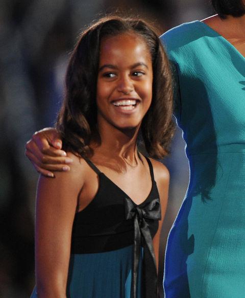 Malia Obama, daughter of 44th President Barack Obama.
