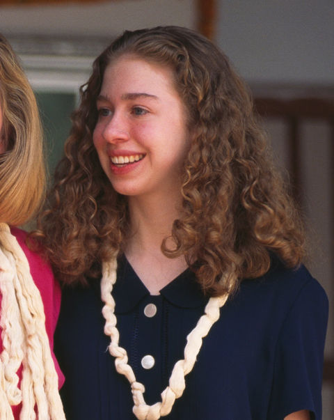 Chelsea Clinton, daughter of 42nd President Bill Clinton.