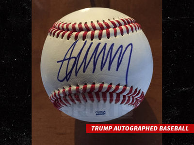 Donald Trump Autographed Baseball Prices Skyrocket (PHOTO)