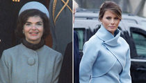 Melania Trump Takes Page Out of Jackie Kennedy's Playbook (PHOTO GALLERY)