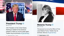 President Donald Trump & Melania Take Over POTUS & FLOTUS Twitter (PHOTOS)