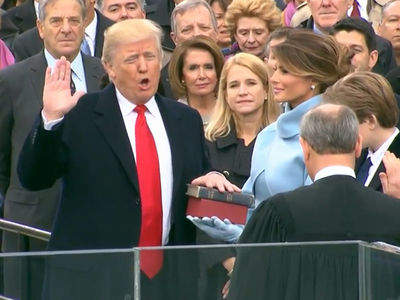 Donald Trump Sworn in as 45th POTUS (VIDEOS)