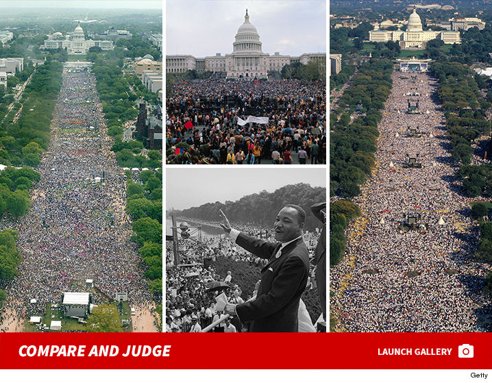 Compare Donald Trump's Inauguration Crowd Size To Inaugurations ...