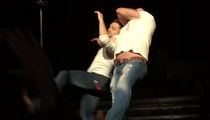 Diamond Dallas Page Does a Diamond Cutter on Justin Moore (VIDEO)