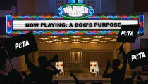 'A Dog's Purpose' Picketed by PETA with Goal to Shame Audience